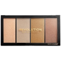 Makeup Revolution Reloaded Highlighter Palette - Lustre Lights Heatwave
