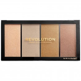 Makeup Revolution Reloaded Highlighter Palette - Lustre Lights Heatwave