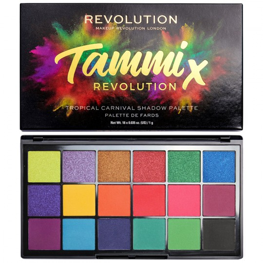 Makeup Revolution X Tammi Tropical Carnival Palette