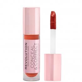 Makeup Revolution Conceal & Correct Concealer - Red