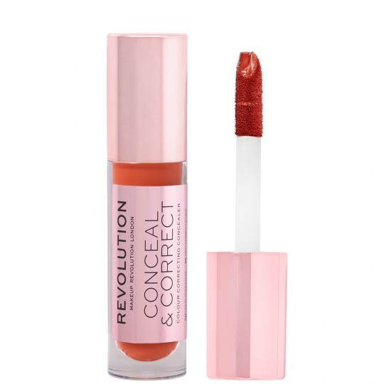 Makeup Revolution Conceal & Correct Concealer - Red