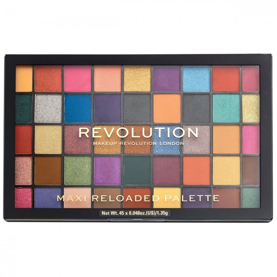 Makeup Revolution Maxi Reloaded Eyeshadow Palette - Dream Big