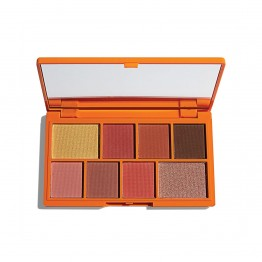 I Heart Revolution Mini Chocolate Eyeshadow Palette - Choc Orange