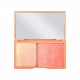 I Heart Makeup Mini - Peach and Glow (by Makeup Revolution)