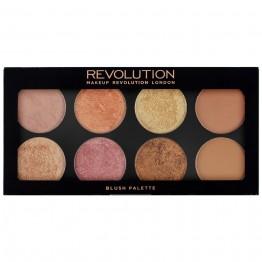 Makeup Revolution Ultra Blush Palette - Golden Sugar 2 Rose Gold