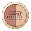 Max Factor Miracle Cheek Duo Blush + Highlight - 20 Brown Peach & Champagne
