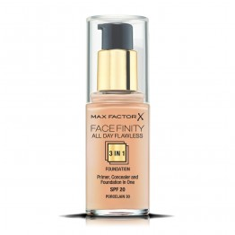 Max Factor Facefinity All Day Flawless 3-In-1 Foundation - 30 Porcelain