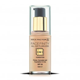 Max Factor Facefinity All Day Flawless 3-In-1 Foundation - 47 Nude