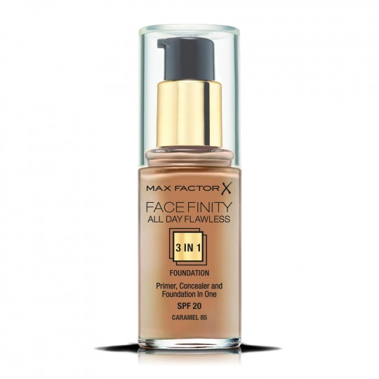 Max Factor Facefinity All Day Flawless 3-In-1 Foundation - 85 Caramel