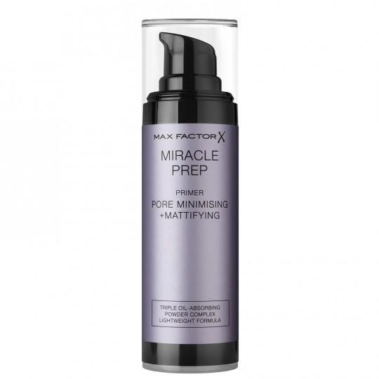 Max Factor Miracle Prep Primer - Pore Minimising & Mattifying