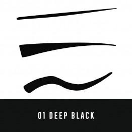 Max Factor Colour X-Pert Waterproof Eyeliner - 01 Deep Black