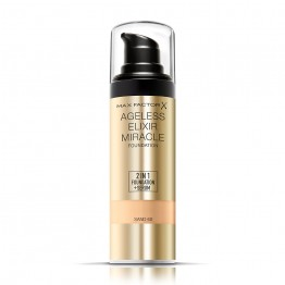 Max Factor Ageless Elixir Miracle 2-in-1 Foundation + Serum - 60 Sand