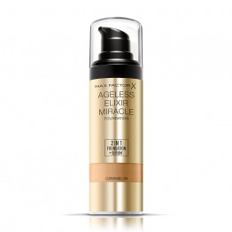 Max Factor Ageless Elixir Miracle 2-in-1 Foundation + Serum - 85 Caramel
