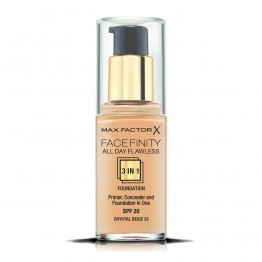 Max Factor Facefinity All Day Flawless 3-In-1 Foundation - 33 Crystal Beige