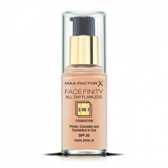 Max Factor Facefinity All Day Flawless 3-In-1 Foundation - 35 Pearl Beige