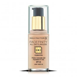 Max Factor Facefinity All Day Flawless 3-In-1 Foundation - 40 Light Ivory