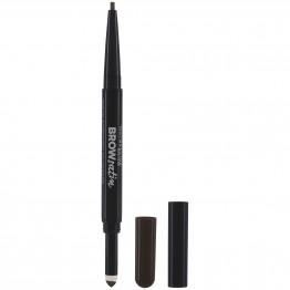 Maybelline Brow Satin Duo Eyebrow Pencil - Black Brown