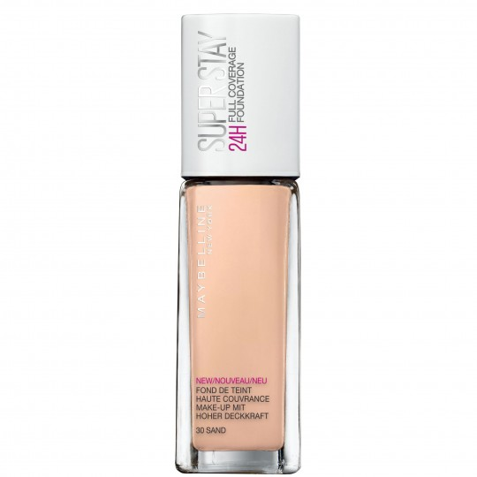 Maybelline SuperStay 24H Full Coverage Foundation - 30 Sand