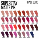 Maybelline SuperStay Matte Ink Liquid Lipstick - 60 Poet
