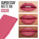 Maybelline SuperStay Matte Ink Liquid Lipstick - 125 Inspirer