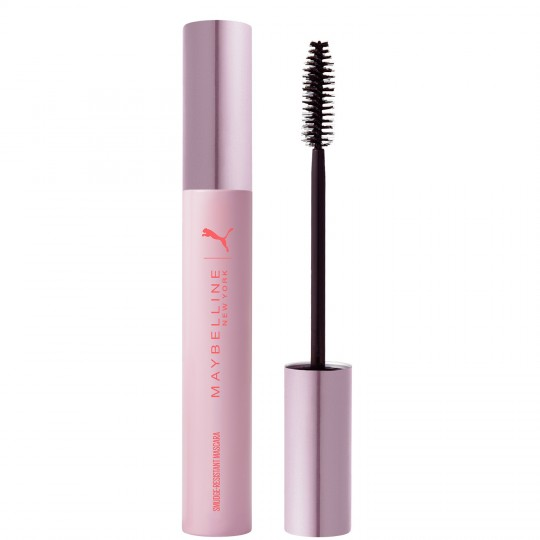 Maybelline X Puma Smudge-Resistant Mascara - Very Black