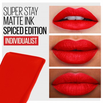 Maybelline SuperStay Matte Ink Spiced Edition Liquid Lipstick - 320 Individualist