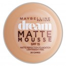 Maybelline Dream Matte Mousse Foundation - 20 Cameo