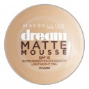 Maybelline Dream Matte Mousse Foundation - 21 Nude