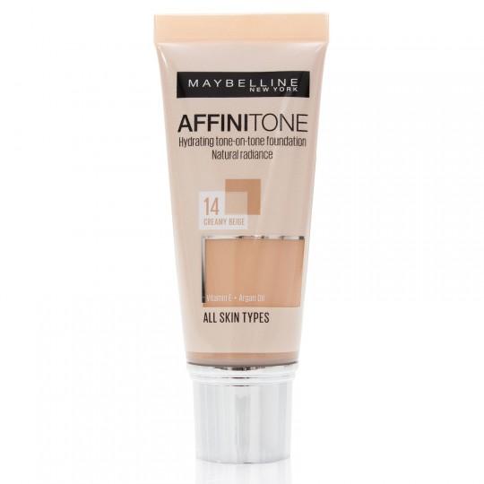 Maybelline Affinitone Foundation - 14 Creamy Beige