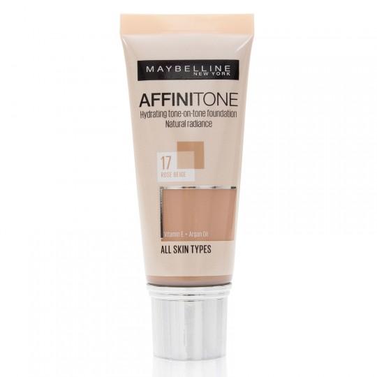 Maybelline Affinitone Foundation - 17 Rose Beige