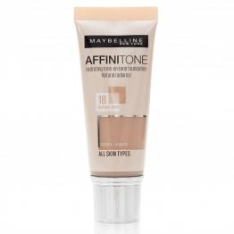 Maybelline Affinitone Foundation - 18 Natural Rose