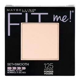Maybelline Fit Me Set + Smooth Pressed Powder - 125 Nude Beige