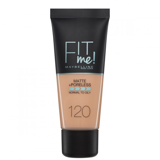 Maybelline Fit Me Matte + Poreless Foundation - 120 Classic Ivory
