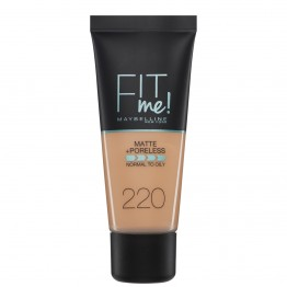 Maybelline Fit Me Matte + Poreless Foundation - 220 Natural Beige