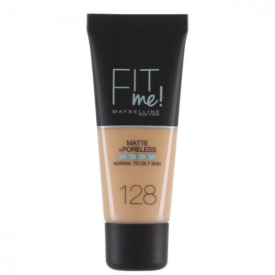 Maybelline Fit Me Matte + Poreless Foundation - 128 Warm Nude