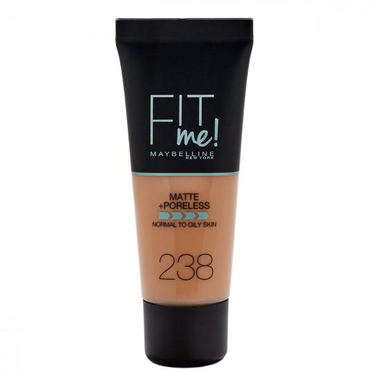 Maybelline Fit Me Matte + Poreless Foundation - 238 Rich Tan