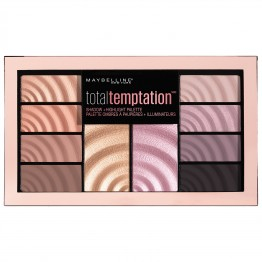 Maybelline Total Temptation Shadow + Highlight Palette