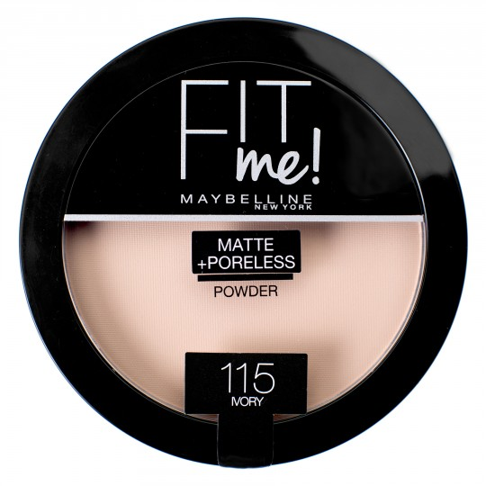 Maybelline Fit Me Matte + Poreless Pressed Powder - 115 Ivory