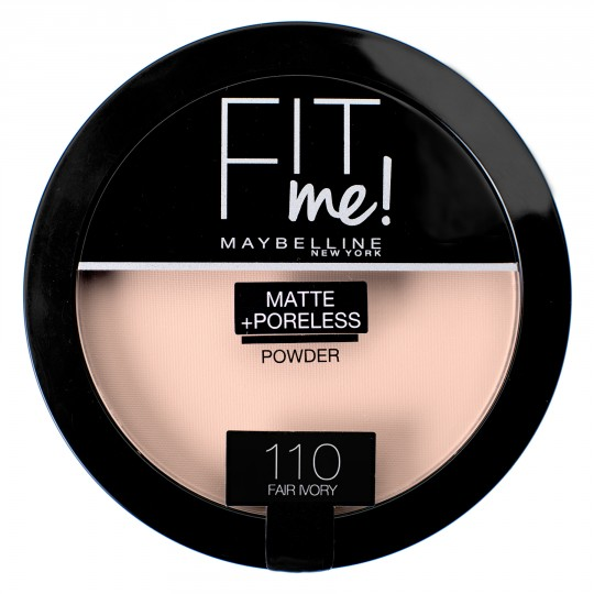 Maybelline Fit Me Matte + Poreless Pressed Powder - 110 Fair Ivory
