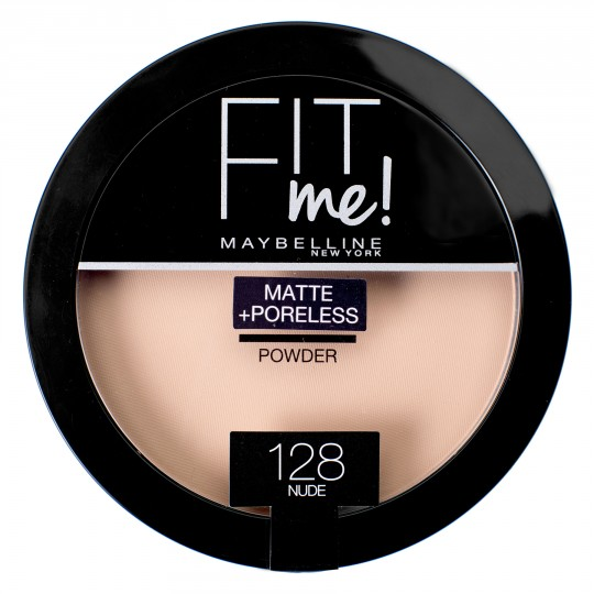 Maybelline Fit Me Matte + Poreless Pressed Powder - 128 Nude
