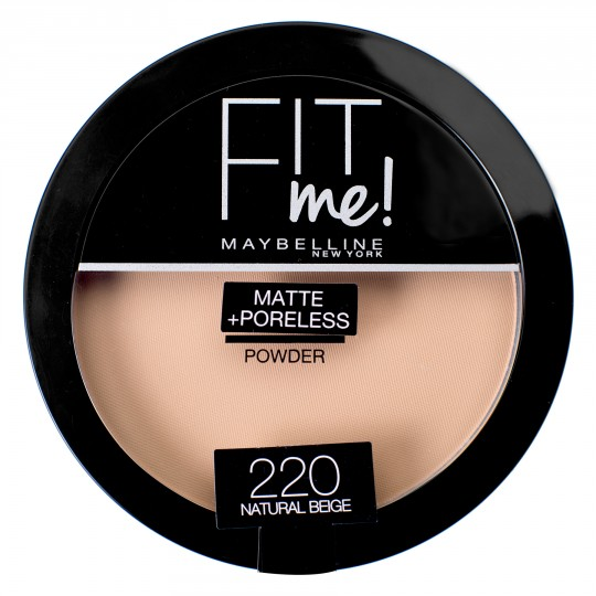 Maybelline Fit Me Matte + Poreless Pressed Powder - 220 Natural Beige