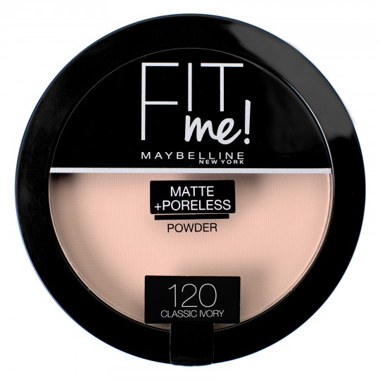Maybelline Fit Me Matte + Poreless Pressed Powder - 120 Classic Ivory