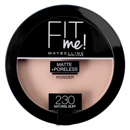 Maybelline Fit Me Matte + Poreless Pressed Powder - 230 Natural Buff