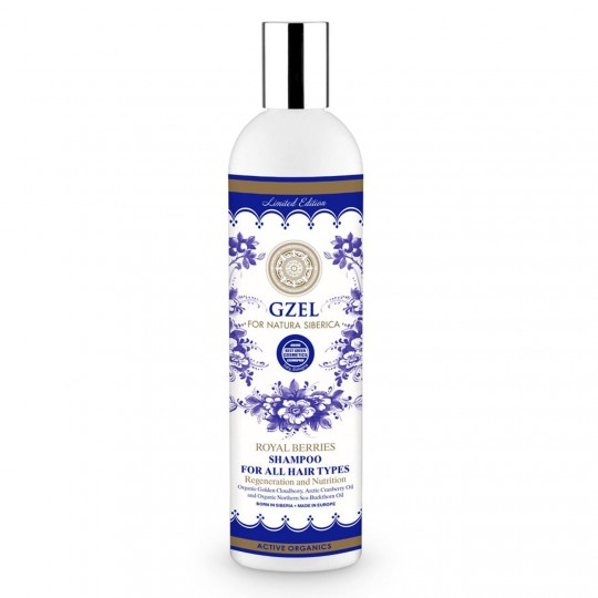 Natura Siberica Gzel Royal Berries Shampoo
