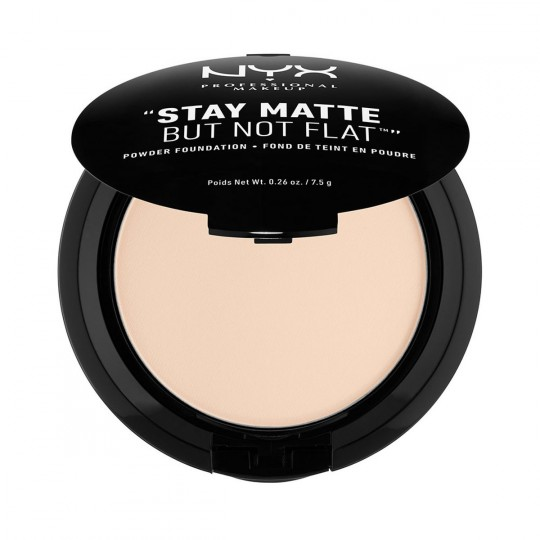 NYX Stay Matte But Not Flat Powder Foundation - Alabaster