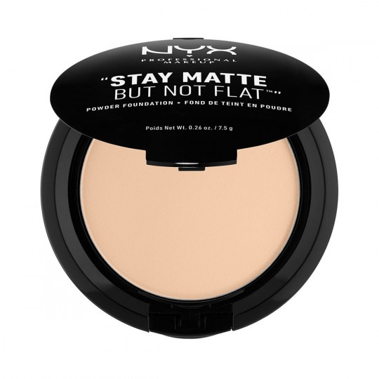 NYX Stay Matte But Not Flat Powder Foundation - Nude Beige