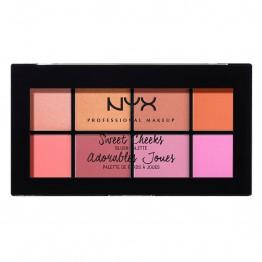 NYX Sweet Cheeks Blush Palette