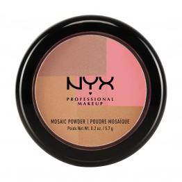 NYX Mosaic Powder Blush - 12 Dare (Rose Gold)