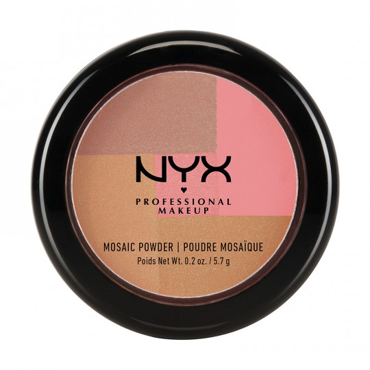NYX Mosaic Powder Blush - 12 Dare (Rose Gold)