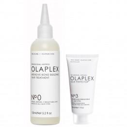 Olaplex No.0 Intensive Bond Building Hair Treatment + No.3 Hair Perfector Launch Kit